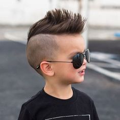 Cute Baby Boy Haircuts For 2 Year Old Kids - Mohawk with Shaved Sides - Best Boys Haircuts: Cool Hairstyles For Little Boys - Cute Cuts and Styles For Baby Boy Kids Hairstyles Boys, Baby Boy Hairstyles, Baby Boy Haircuts, Cool Hairstyles For Men, Young Boy Haircuts, Boys Undercut, Boys Fade Haircut, Baby Haircut, Undercut Hair