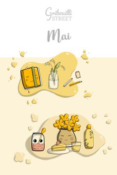 Doodle Hello mai Hello Mai, Doodle Art, Doodles, Street, Doodle, Good Mood, Drawing Drawing, Walkway, Donut Tower