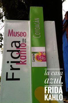 La casa azul, museu Frida Kahlo.