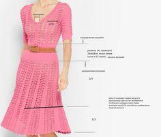 Дуэт крючка и спиц винтажное платье от Michael Kors