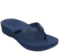 0022215b1 Vionic Platform Leather Sandals -High Tide Leather Sandals