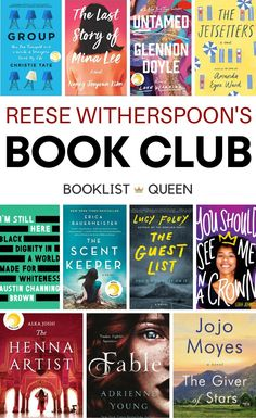 Find out what Reese's book club is reading this month and see every book chosen for Reese Witherspoon's book club list. Book Club Books 2017, Book Club List, Book Lists, Amanda Ward, Reese Witherspoon Book Club, Starting A Book, Feminist Books, Love Warriors, Best Books To Read