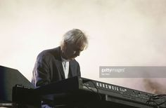 Musician Richard Wright from the band Pink Floyd performs on stage at 'Live 8 London' in Hyde Park on July 2, 2005 in London, England. The free concert is one of ten simultaneous international gigs including Philadelphia, Berlin, Rome, Paris, Barrie, Tokyo, Cornwall, Moscow and Johannesburg. The concerts precede the G8 summit (July 6-8) to raising awareness for MAKEpovertyHISTORY.