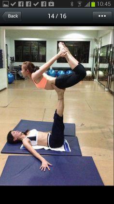 acro yoga.. bow pose.. » Yoga Pose Weekly