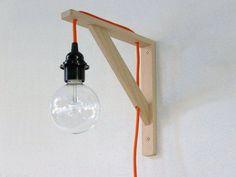 Lampada da parete fai da te lampade fai da te lamps diy nel 2019