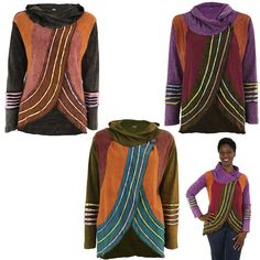 Patchwork Crescendo Wrap Jacket at The Animal Rescue Site