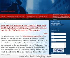 Stock Broker Fraud Blog :: Published by Houston Securities Fraud Lawyers Shepherd Smith Edwards & Kantas - Click to visit blog:  http://1.33x.us/ItMWfn