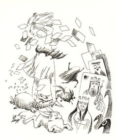 Tove Jansson's Rare Vintage Illustrations for Alice in Wonderland – Brain Pickings