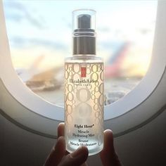 Hydrate your skin with Elizabeth Arden's Eight Hour Miracle Hydrating Mist rich in vitamins and antioxidants. Buy online from Australian stockist Kiana Beauty. Acne Free, Eight, Skin Makeup, Your Skin, Mists, Skin Care, Mirror Mirror, Bottle, Jet Set