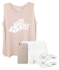 """""""Sun Bummin'"""" by ceeceegrant ❤ liked on Polyvore featuring Topshop"""