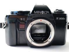 Minolta x 300 s Spiegelreflex Kamera Dachboden Antik Vintage  in Foto & Camcorder, Photographica, Alte Kameras | eBay