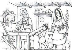 Dibujo Sagrada Familia.