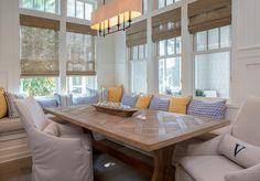 Florida Vacation Beach House Dining Room