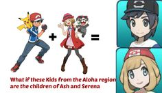 What if Ash and Serena have children Theory by BlackOtakuZ on DeviantArt
