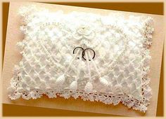 FREE Ring Bearer Pillow Crochet Pattern weddings crochet I