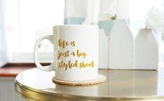 Instagram Coffee Mug  Styled Shoot Mug for Women  by thetullebox