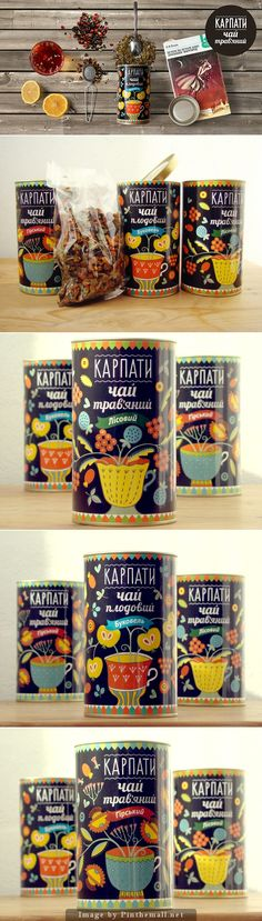 """Karpaty"" tea and is Ukrainian for the Carpathian Mountains PD"