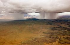 Rain Storms in Namibia