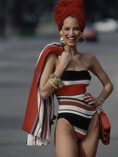 Sure, Kate Moss is great but did you ever stop to consider how incredible Christy Turlington is? She's the more unassuming model but is super versatile.