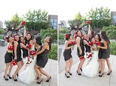 High School Sweethearts' Red + Black Wedding in Reno | Images by Jessi LeMay Photography | Via Modernly Wed | 26