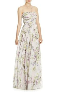 JY Jenny Yoo Bridesmaid style http: Bhldn Bridesmaid Dresses, Prom Dresses, Wedding Dresses, Floral Dresses, Floral Maxi, Pink Maxi, Bride Dresses, Long Dresses, Bridesmaids