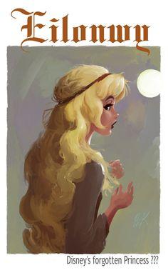 Princess Eilonwy from The Black Cauldron. (Eilonwy by artist2point5.deviantart.com on @DeviantArt)