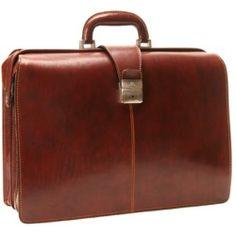 "Tony Perotti - Benevento 17"" Lawyer's Briefcase  - Brown"