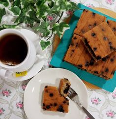 Banana Chocolate Chip Squares Recipe