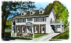 Father of the Bride - 43010PF | Colonial, Traditional, 2nd Floor Master Suite, Butler Walk-in Pantry, PDF | Architectural Designs