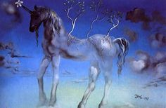 The Happy Unicorn, 1977. Dalí