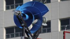 A compact and quiet wind turbine, a windmill, that you can place more than one on just about any house. Developed by Research & Development Company the Archimedes, the Liam Urban Wind Turbine has… Renewable Energy, Solar Energy, Solar Power, Diy Solar, New Energy, Save Energy, Vertical Farm, Solaire Diy, Alternative Energie