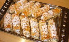 Trubičky z lístkového cesta: | Báječné recepty Sweet Desserts, French Toast, Bread, Ale, Vegetables, Breakfast, Recipes, Food, Hampers