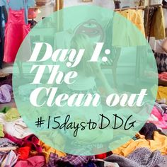 How To Spring Clean Your Wardrobe (take Ddgs 15 Day Challenge)