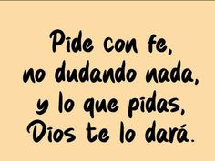 Spanish Prayers, God Is Good, Yuri, Religion, Spirituality, Inspirational Quotes, Faith, Pink, Faith Quotes