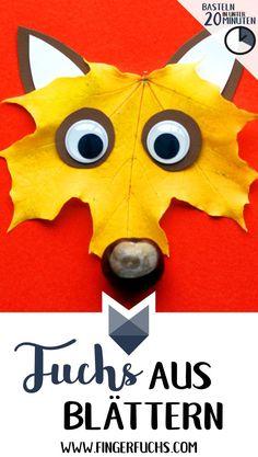 Bilden Sie einen herbstlichen Löwen mit Blättern - basteln Sie in weniger als 20 Minuten - Детские развлечения - Bilder Crafts For Teens To Make, Fall Crafts For Kids, Crafts To Sell, Diy For Kids, Diy And Crafts, Sell Diy, Summer Crafts, Decor Crafts, Leaf Crafts