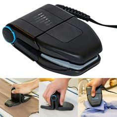 Mini Iron, Digital Timer, Wrinkle Remover, Business Travel, Business Class, Business Tips, Ergonomic Mouse, Different Fabrics, Korea