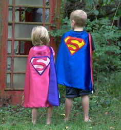 for the little ones,  Customized Super Hero Capes by Super Kid Capes,  made in Indiana