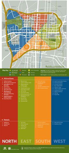 Wayfinding Map Uptown Charlotte