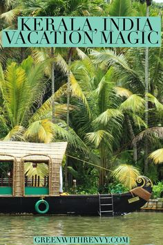 Kerala seduces with the power of nature. A unique state in India of magical landscapes, adventure and warm, welcoming people. #India #Kerala #ecotourism #southernindia #travel #houseboat #rivercruise