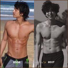 Gong Yoo / 11 years ago, always perfect ________________________________________ Korean Men, Korean Actors, Goblin Gong Yoo, Yoo Gong, Hot Asian Men, Cute Teenage Boys, Kdrama Actors, Cute Actors, Lee Dong Wook
