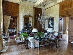 Rhone-Alpes France Chateau mansion interior