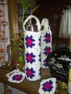 Termo abrigadito. Granny Crochet