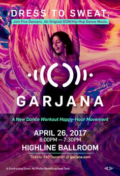 Garjana: A New Dance Workout Happy Hour Movement