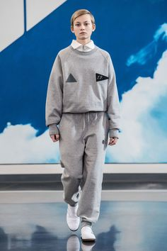 The complete Gosha Rubchinskiy Fall 2018 Menswear fashion show now on Vogue Runway.