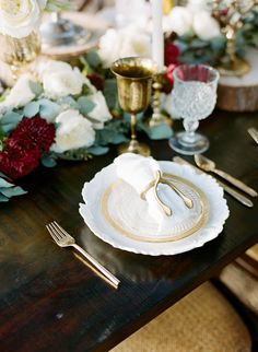 Rustic and elegant winter wedding inspiration   photo by LMarie Photography   100 Layer Cake