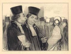 """You old scoundrel!"" LITHOGRAPH BY HONORE DAUMIER 1841"