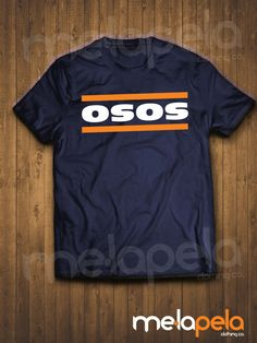 Chicago Bears Osos Spanish T-Shirt  Adult by MelaPelaClothing