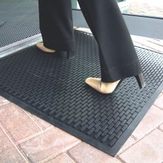 Model CS-0001 #Cobascrape #Mat Hard wearing surface scrapes dirt from shoes Provides a sure footing in wet/oily conditions Bevelled edges to help prevent trips Manufactured from 100% nitrile Ideal for all weather conditions #Machine #washable Colour: black See more at: http://shop.hsil.co.uk/p-3448-cobascrape-mat.aspx#sthash.9qPfDM0F.dpuf