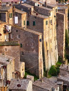 Magical, not to be missed, Sovana in Maremma Tuscany Italy