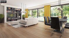 PROIECT CD-1021 « Firmă de construcții case Casa Top, Divider, New Homes, Interior, House, Furniture, Home Decor, Empire, Architecture